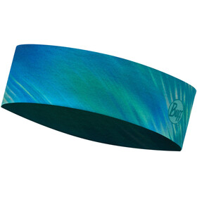 Buff Headband Slim Shining Turquoise